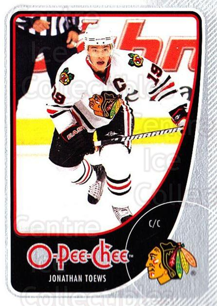 2010-11 O-Pee-Chee #121 Jonathan Toews<br/>2 In Stock - $2.00 each - <a href=https://centericecollectibles.foxycart.com/cart?name=2010-11%20O-Pee-Chee%20%23121%20Jonathan%20Toews...&quantity_max=2&price=$2.00&code=420340 class=foxycart> Buy it now! </a>