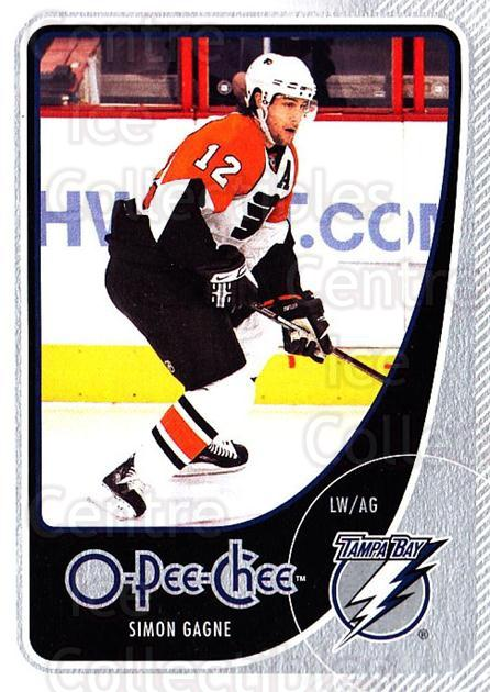 2010-11 O-Pee-Chee #173 Simon Gagne<br/>4 In Stock - $1.00 each - <a href=https://centericecollectibles.foxycart.com/cart?name=2010-11%20O-Pee-Chee%20%23173%20Simon%20Gagne...&quantity_max=4&price=$1.00&code=420392 class=foxycart> Buy it now! </a>