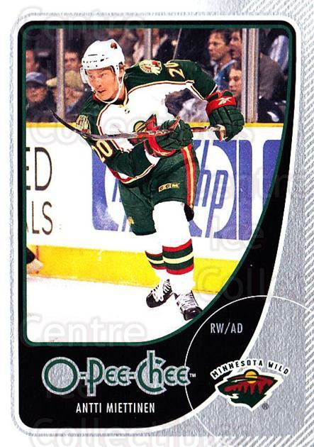 2010-11 O-Pee-Chee #208 Antti Miettinen<br/>3 In Stock - $1.00 each - <a href=https://centericecollectibles.foxycart.com/cart?name=2010-11%20O-Pee-Chee%20%23208%20Antti%20Miettinen...&quantity_max=3&price=$1.00&code=420427 class=foxycart> Buy it now! </a>