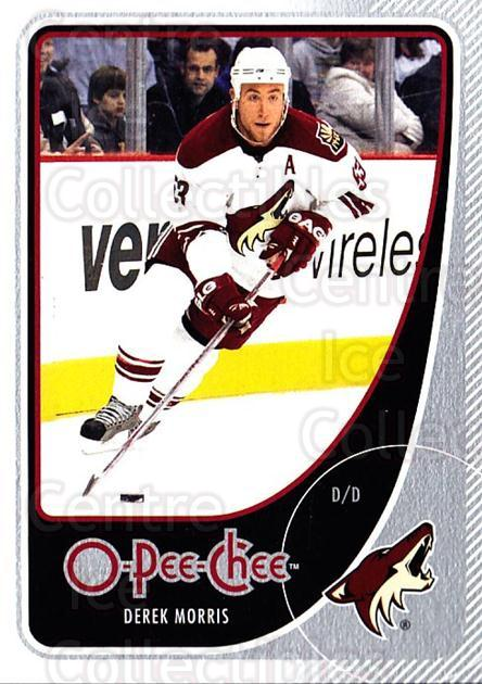 2010-11 O-Pee-Chee #244 Derek Morris<br/>4 In Stock - $1.00 each - <a href=https://centericecollectibles.foxycart.com/cart?name=2010-11%20O-Pee-Chee%20%23244%20Derek%20Morris...&quantity_max=4&price=$1.00&code=420463 class=foxycart> Buy it now! </a>