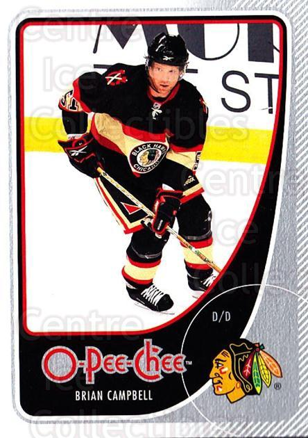 2010-11 O-Pee-Chee #262 Brian Campbell<br/>4 In Stock - $1.00 each - <a href=https://centericecollectibles.foxycart.com/cart?name=2010-11%20O-Pee-Chee%20%23262%20Brian%20Campbell...&quantity_max=4&price=$1.00&code=420481 class=foxycart> Buy it now! </a>