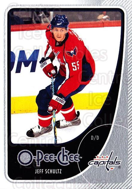 2010-11 O-Pee-Chee #458 Jeff Schultz<br/>4 In Stock - $1.00 each - <a href=https://centericecollectibles.foxycart.com/cart?name=2010-11%20O-Pee-Chee%20%23458%20Jeff%20Schultz...&quantity_max=4&price=$1.00&code=420677 class=foxycart> Buy it now! </a>