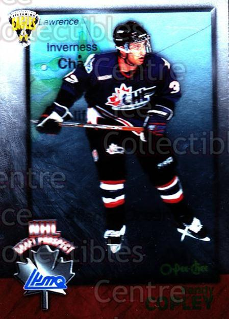 1998 Bowman CHL OPC International #125 Randy Copley<br/>3 In Stock - $2.00 each - <a href=https://centericecollectibles.foxycart.com/cart?name=1998%20Bowman%20CHL%20OPC%20International%20%23125%20Randy%20Copley...&quantity_max=3&price=$2.00&code=421037 class=foxycart> Buy it now! </a>