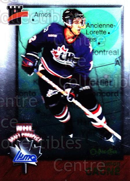 1998 Bowman CHL OPC International #126 Simon Gagne<br/>2 In Stock - $2.00 each - <a href=https://centericecollectibles.foxycart.com/cart?name=1998%20Bowman%20CHL%20OPC%20International%20%23126%20Simon%20Gagne...&quantity_max=2&price=$2.00&code=421038 class=foxycart> Buy it now! </a>