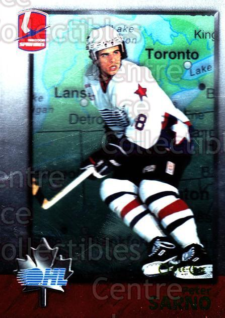 1998 Bowman CHL OPC International #16 Peter Sarno<br/>2 In Stock - $2.00 each - <a href=https://centericecollectibles.foxycart.com/cart?name=1998%20Bowman%20CHL%20OPC%20International%20%2316%20Peter%20Sarno...&quantity_max=2&price=$2.00&code=421074 class=foxycart> Buy it now! </a>