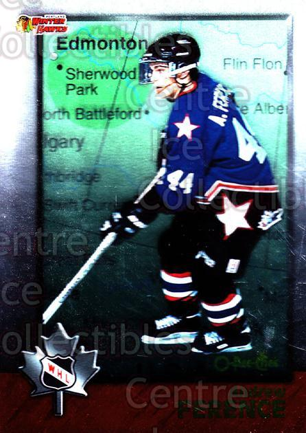 1998 Bowman CHL OPC International #48 Andrew Ference<br/>5 In Stock - $2.00 each - <a href=https://centericecollectibles.foxycart.com/cart?name=1998%20Bowman%20CHL%20OPC%20International%20%2348%20Andrew%20Ference...&quantity_max=5&price=$2.00&code=421115 class=foxycart> Buy it now! </a>