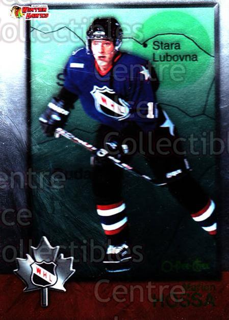 1998 Bowman CHL OPC International #53 Marian Hossa<br/>2 In Stock - $2.00 each - <a href=https://centericecollectibles.foxycart.com/cart?name=1998%20Bowman%20CHL%20OPC%20International%20%2353%20Marian%20Hossa...&quantity_max=2&price=$2.00&code=421121 class=foxycart> Buy it now! </a>