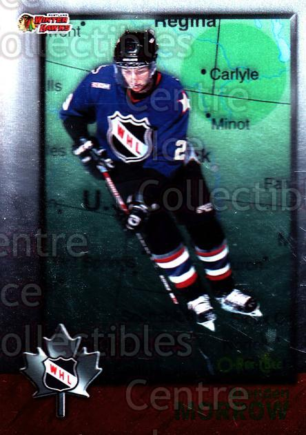 1998 Bowman CHL OPC International #60 Brenden Morrow<br/>6 In Stock - $2.00 each - <a href=https://centericecollectibles.foxycart.com/cart?name=1998%20Bowman%20CHL%20OPC%20International%20%2360%20Brenden%20Morrow...&quantity_max=6&price=$2.00&code=421129 class=foxycart> Buy it now! </a>