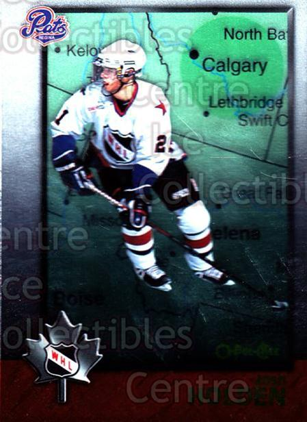 1998 Bowman CHL OPC International #73 Josh Holden<br/>1 In Stock - $2.00 each - <a href=https://centericecollectibles.foxycart.com/cart?name=1998%20Bowman%20CHL%20OPC%20International%20%2373%20Josh%20Holden...&quantity_max=1&price=$2.00&code=421143 class=foxycart> Buy it now! </a>