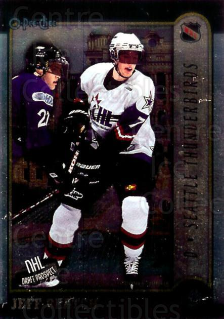 1999 Bowman CHL OPC International #4 Jeff Beatch<br/>4 In Stock - $2.00 each - <a href=https://centericecollectibles.foxycart.com/cart?name=1999%20Bowman%20CHL%20OPC%20International%20%234%20Jeff%20Beatch...&quantity_max=4&price=$2.00&code=421385 class=foxycart> Buy it now! </a>