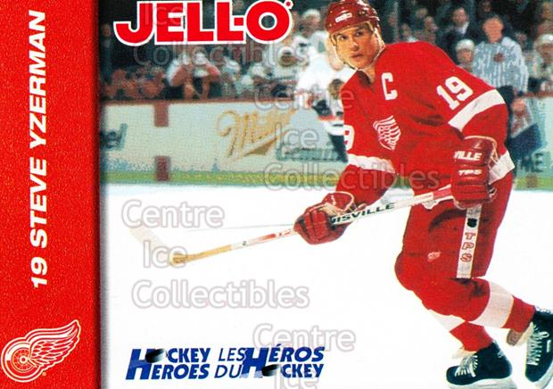 1994-95 Kraft Jell-O Hockey Heroes #14 Steve Yzerman<br/>1 In Stock - $5.00 each - <a href=https://centericecollectibles.foxycart.com/cart?name=1994-95%20Kraft%20Jell-O%20Hockey%20Heroes%20%2314%20Steve%20Yzerman...&price=$5.00&code=421658 class=foxycart> Buy it now! </a>