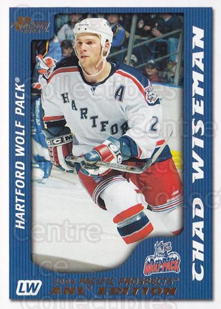 2003-04 Pacific AHL Prospects Gold #37 Chad Wiseman<br/>2 In Stock - $2.00 each - <a href=https://centericecollectibles.foxycart.com/cart?name=2003-04%20Pacific%20AHL%20Prospects%20Gold%20%2337%20Chad%20Wiseman...&quantity_max=2&price=$2.00&code=421720 class=foxycart> Buy it now! </a>