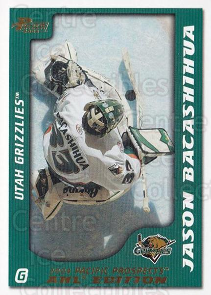 2003-04 Pacific AHL Prospects Gold #92 Jason Bacashihua<br/>4 In Stock - $2.00 each - <a href=https://centericecollectibles.foxycart.com/cart?name=2003-04%20Pacific%20AHL%20Prospects%20Gold%20%2392%20Jason%20Bacashihu...&quantity_max=4&price=$2.00&code=421773 class=foxycart> Buy it now! </a>