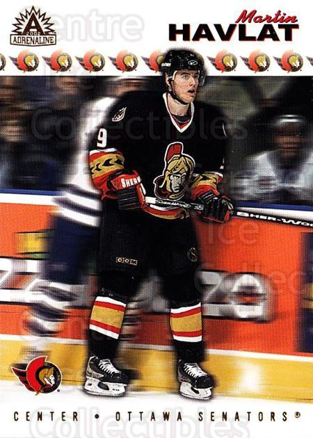 2001-02 Adrenaline #133 Martin Havlat<br/>2 In Stock - $1.00 each - <a href=https://centericecollectibles.foxycart.com/cart?name=2001-02%20Adrenaline%20%23133%20Martin%20Havlat...&quantity_max=2&price=$1.00&code=422292 class=foxycart> Buy it now! </a>
