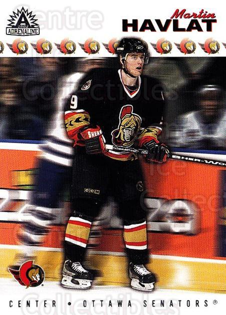 2001-02 Adrenaline Retail #133 Martin Havlat<br/>4 In Stock - $1.00 each - <a href=https://centericecollectibles.foxycart.com/cart?name=2001-02%20Adrenaline%20Retail%20%23133%20Martin%20Havlat...&quantity_max=4&price=$1.00&code=422322 class=foxycart> Buy it now! </a>