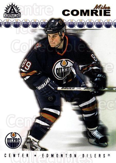 2001-02 Adrenaline Retail #74 Mike Comrie<br/>4 In Stock - $1.00 each - <a href=https://centericecollectibles.foxycart.com/cart?name=2001-02%20Adrenaline%20Retail%20%2374%20Mike%20Comrie...&quantity_max=4&price=$1.00&code=422349 class=foxycart> Buy it now! </a>