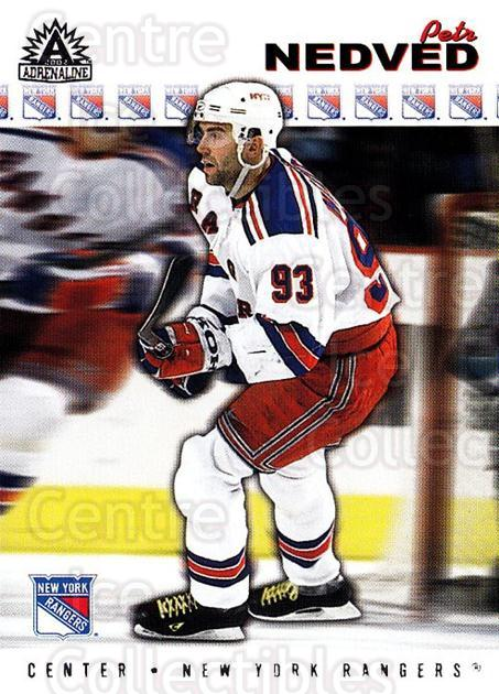 2001-02 Adrenaline Retail #129 Petr Nedved<br/>3 In Stock - $1.00 each - <a href=https://centericecollectibles.foxycart.com/cart?name=2001-02%20Adrenaline%20Retail%20%23129%20Petr%20Nedved...&quantity_max=3&price=$1.00&code=422420 class=foxycart> Buy it now! </a>