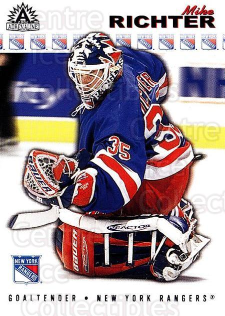 2001-02 Adrenaline Retail #130 Mike Richter<br/>3 In Stock - $1.00 each - <a href=https://centericecollectibles.foxycart.com/cart?name=2001-02%20Adrenaline%20Retail%20%23130%20Mike%20Richter...&quantity_max=3&price=$1.00&code=422422 class=foxycart> Buy it now! </a>