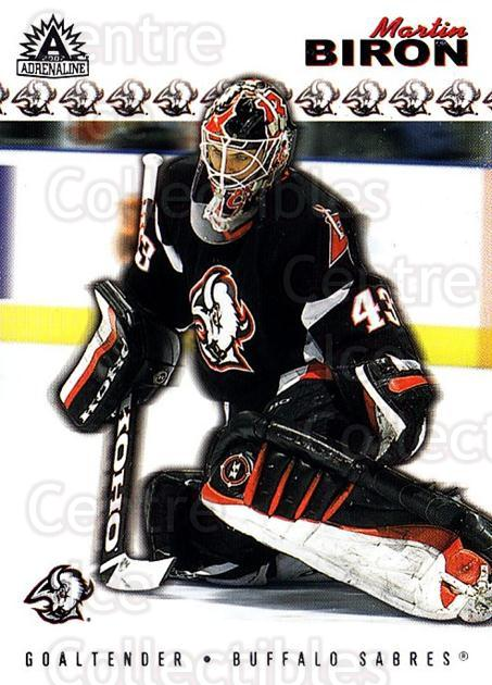 2001-02 Adrenaline Retail #19 Martin Biron<br/>3 In Stock - $1.00 each - <a href=https://centericecollectibles.foxycart.com/cart?name=2001-02%20Adrenaline%20Retail%20%2319%20Martin%20Biron...&quantity_max=3&price=$1.00&code=422479 class=foxycart> Buy it now! </a>