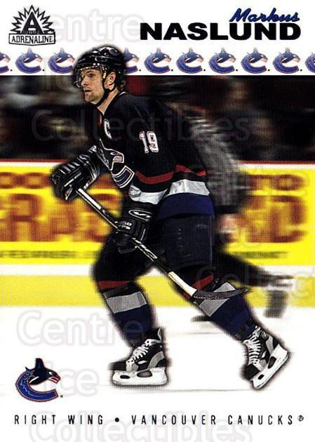 2001-02 Adrenaline Retail #191 Markus Naslund<br/>4 In Stock - $1.00 each - <a href=https://centericecollectibles.foxycart.com/cart?name=2001-02%20Adrenaline%20Retail%20%23191%20Markus%20Naslund...&quantity_max=4&price=$1.00&code=422481 class=foxycart> Buy it now! </a>