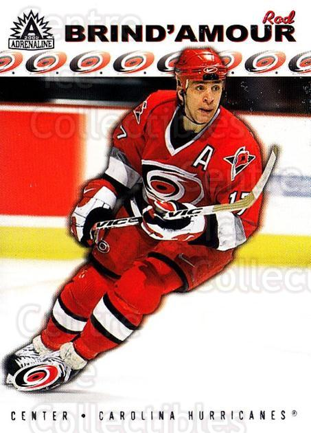 2001-02 Adrenaline Retail #31 Rod Brind'Amour<br/>4 In Stock - $1.00 each - <a href=https://centericecollectibles.foxycart.com/cart?name=2001-02%20Adrenaline%20Retail%20%2331%20Rod%20Brind'Amour...&quantity_max=4&price=$1.00&code=422512 class=foxycart> Buy it now! </a>