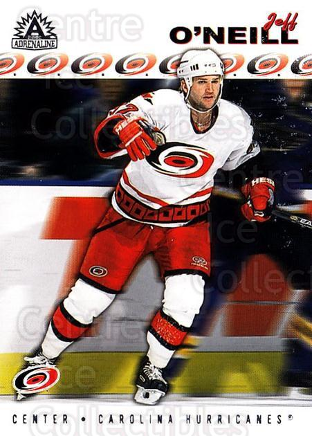 2001-02 Adrenaline Retail #36 Jeff O'Neill<br/>4 In Stock - $1.00 each - <a href=https://centericecollectibles.foxycart.com/cart?name=2001-02%20Adrenaline%20Retail%20%2336%20Jeff%20O'Neill...&quantity_max=4&price=$1.00&code=422517 class=foxycart> Buy it now! </a>