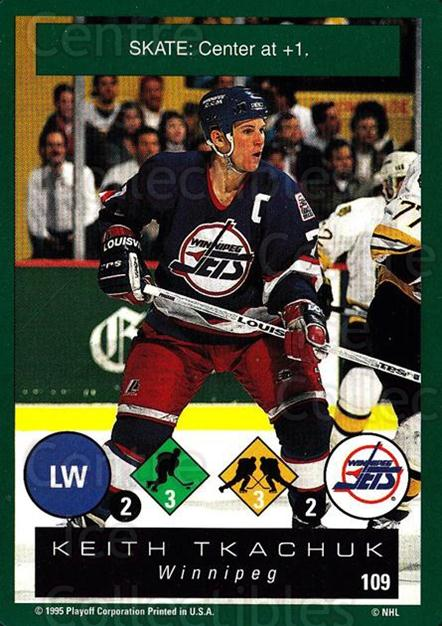 1995-96 Playoff One on One #109 Keith Tkachuk<br/>7 In Stock - $1.00 each - <a href=https://centericecollectibles.foxycart.com/cart?name=1995-96%20Playoff%20One%20on%20One%20%23109%20Keith%20Tkachuk...&quantity_max=7&price=$1.00&code=42299 class=foxycart> Buy it now! </a>