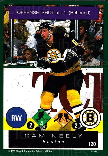 1995-96 Playoff One on One #120 Cam Neely<br/>3 In Stock - $1.00 each - <a href=https://centericecollectibles.foxycart.com/cart?name=1995-96%20Playoff%20One%20on%20One%20%23120%20Cam%20Neely...&quantity_max=3&price=$1.00&code=42312 class=foxycart> Buy it now! </a>