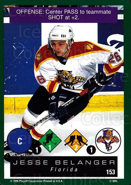 1995-96 Playoff One on One #153 Jesse Belanger<br/>5 In Stock - $1.00 each - <a href=https://centericecollectibles.foxycart.com/cart?name=1995-96%20Playoff%20One%20on%20One%20%23153%20Jesse%20Belanger...&quantity_max=5&price=$1.00&code=42348 class=foxycart> Buy it now! </a>