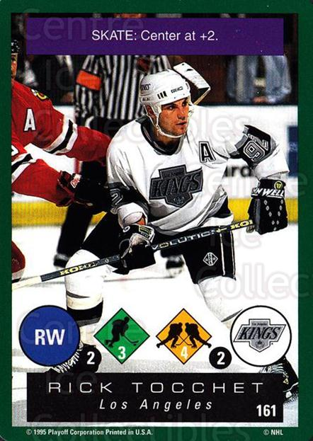 1995-96 Playoff One on One #161 Rick Tocchet<br/>4 In Stock - $1.00 each - <a href=https://centericecollectibles.foxycart.com/cart?name=1995-96%20Playoff%20One%20on%20One%20%23161%20Rick%20Tocchet...&quantity_max=4&price=$1.00&code=42357 class=foxycart> Buy it now! </a>