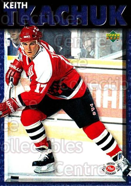 1995-96 Post Cereal Upper Deck #23 Keith Tkachuk<br/>2 In Stock - $3.00 each - <a href=https://centericecollectibles.foxycart.com/cart?name=1995-96%20Post%20Cereal%20Upper%20Deck%20%2323%20Keith%20Tkachuk...&quantity_max=2&price=$3.00&code=42449 class=foxycart> Buy it now! </a>