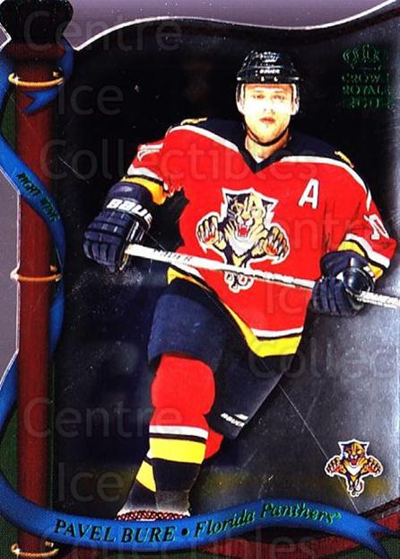 2001-02 Crown Royale Retail #63 Pavel Bure<br/>5 In Stock - $2.00 each - <a href=https://centericecollectibles.foxycart.com/cart?name=2001-02%20Crown%20Royale%20Retail%20%2363%20Pavel%20Bure...&quantity_max=5&price=$2.00&code=426020 class=foxycart> Buy it now! </a>