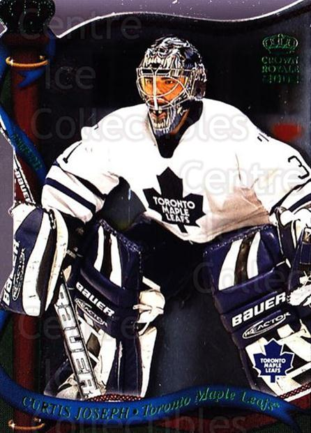 2001-02 Crown Royale Retail #131 Curtis Joseph<br/>5 In Stock - $1.00 each - <a href=https://centericecollectibles.foxycart.com/cart?name=2001-02%20Crown%20Royale%20Retail%20%23131%20Curtis%20Joseph...&quantity_max=5&price=$1.00&code=426033 class=foxycart> Buy it now! </a>