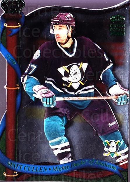 2001-02 Crown Royale Retail #1 Matt Cullen<br/>6 In Stock - $1.00 each - <a href=https://centericecollectibles.foxycart.com/cart?name=2001-02%20Crown%20Royale%20Retail%20%231%20Matt%20Cullen...&quantity_max=6&price=$1.00&code=426044 class=foxycart> Buy it now! </a>