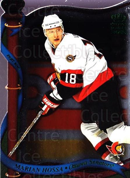 2001-02 Crown Royale Retail #101 Marian Hossa<br/>5 In Stock - $1.00 each - <a href=https://centericecollectibles.foxycart.com/cart?name=2001-02%20Crown%20Royale%20Retail%20%23101%20Marian%20Hossa...&quantity_max=5&price=$1.00&code=426047 class=foxycart> Buy it now! </a>
