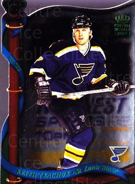 2001-02 Crown Royale Retail #121 Keith Tkachuk<br/>9 In Stock - $1.00 each - <a href=https://centericecollectibles.foxycart.com/cart?name=2001-02%20Crown%20Royale%20Retail%20%23121%20Keith%20Tkachuk...&quantity_max=9&price=$1.00&code=426061 class=foxycart> Buy it now! </a>
