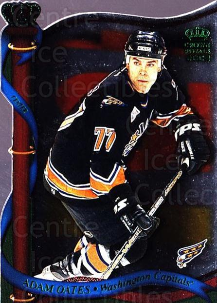 2001-02 Crown Royale Retail #144 Adam Oates<br/>5 In Stock - $1.00 each - <a href=https://centericecollectibles.foxycart.com/cart?name=2001-02%20Crown%20Royale%20Retail%20%23144%20Adam%20Oates...&quantity_max=5&price=$1.00&code=426079 class=foxycart> Buy it now! </a>