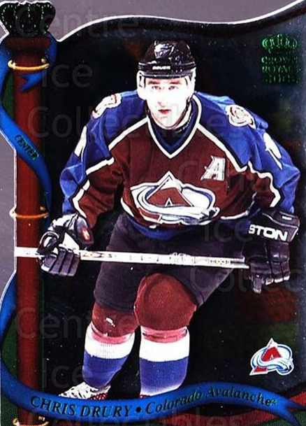 2001-02 Crown Royale Retail #36 Chris Drury<br/>6 In Stock - $1.00 each - <a href=https://centericecollectibles.foxycart.com/cart?name=2001-02%20Crown%20Royale%20Retail%20%2336%20Chris%20Drury...&quantity_max=6&price=$1.00&code=426100 class=foxycart> Buy it now! </a>