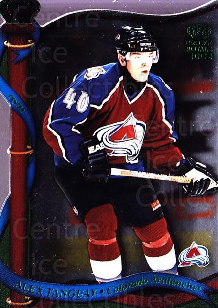 2001-02 Crown Royale Retail #41 Alex Tanguay<br/>5 In Stock - $1.00 each - <a href=https://centericecollectibles.foxycart.com/cart?name=2001-02%20Crown%20Royale%20Retail%20%2341%20Alex%20Tanguay...&quantity_max=5&price=$1.00&code=426103 class=foxycart> Buy it now! </a>
