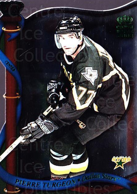 2001-02 Crown Royale Retail #50 Pierre Turgeon<br/>3 In Stock - $1.00 each - <a href=https://centericecollectibles.foxycart.com/cart?name=2001-02%20Crown%20Royale%20Retail%20%2350%20Pierre%20Turgeon...&quantity_max=3&price=$1.00&code=426110 class=foxycart> Buy it now! </a>