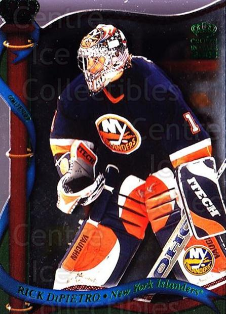 2001-02 Crown Royale Retail #89 Rick DiPietro<br/>5 In Stock - $1.00 each - <a href=https://centericecollectibles.foxycart.com/cart?name=2001-02%20Crown%20Royale%20Retail%20%2389%20Rick%20DiPietro...&quantity_max=5&price=$1.00&code=426141 class=foxycart> Buy it now! </a>