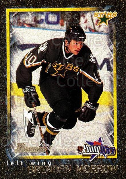 2001-02 Bowman YoungStars Gold #144 Brenden Morrow<br/>2 In Stock - $3.00 each - <a href=https://centericecollectibles.foxycart.com/cart?name=2001-02%20Bowman%20YoungStars%20Gold%20%23144%20Brenden%20Morrow...&quantity_max=2&price=$3.00&code=426785 class=foxycart> Buy it now! </a>