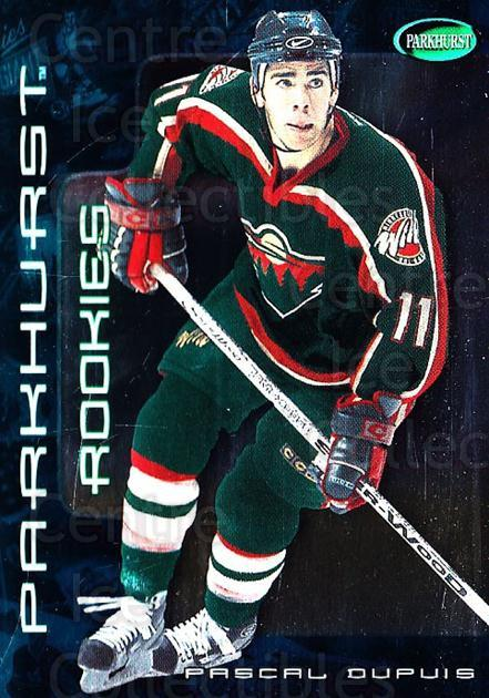 2001-02 Parkhurst #267 Pascal Dupuis<br/>1 In Stock - $5.00 each - <a href=https://centericecollectibles.foxycart.com/cart?name=2001-02%20Parkhurst%20%23267%20Pascal%20Dupuis...&quantity_max=1&price=$5.00&code=427151 class=foxycart> Buy it now! </a>