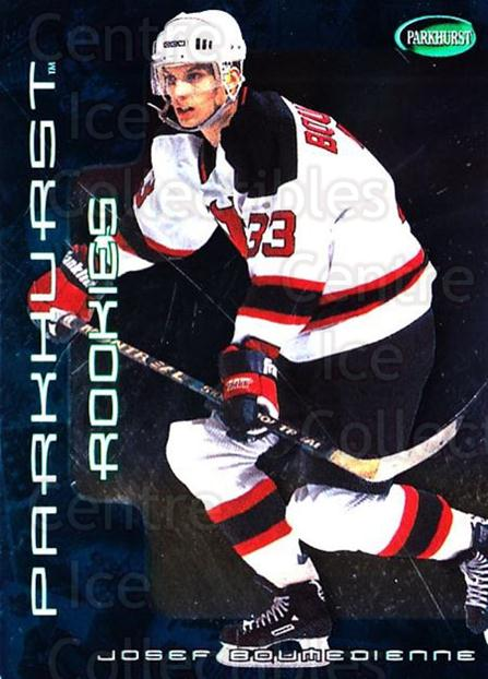 2001-02 Parkhurst #298 Josef Boumedienne<br/>1 In Stock - $5.00 each - <a href=https://centericecollectibles.foxycart.com/cart?name=2001-02%20Parkhurst%20%23298%20Josef%20Boumedien...&quantity_max=1&price=$5.00&code=427174 class=foxycart> Buy it now! </a>