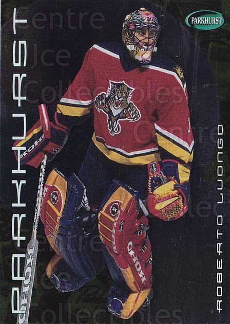 2001-02 Parkhurst Gold #43 Roberto Luongo<br/>4 In Stock - $10.00 each - <a href=https://centericecollectibles.foxycart.com/cart?name=2001-02%20Parkhurst%20Gold%20%2343%20Roberto%20Luongo...&quantity_max=4&price=$10.00&code=427225 class=foxycart> Buy it now! </a>