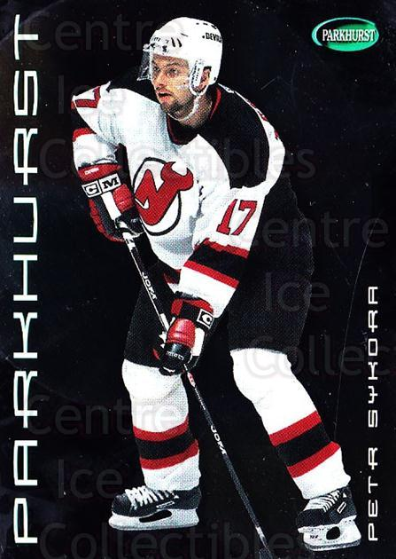 2001-02 Parkhurst Silver #48 Petr Sykora<br/>3 In Stock - $3.00 each - <a href=https://centericecollectibles.foxycart.com/cart?name=2001-02%20Parkhurst%20Silver%20%2348%20Petr%20Sykora...&quantity_max=3&price=$3.00&code=427330 class=foxycart> Buy it now! </a>