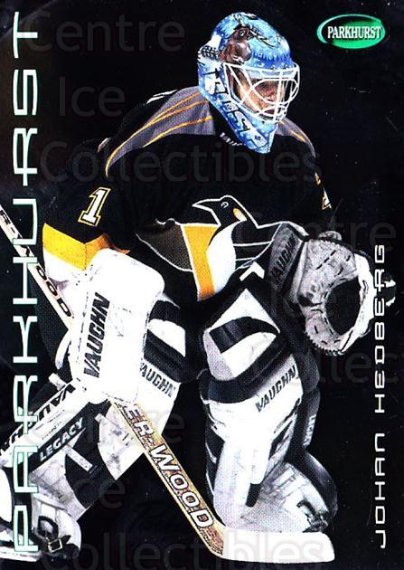 2001-02 Parkhurst Silver #84 Johan Hedberg<br/>2 In Stock - $3.00 each - <a href=https://centericecollectibles.foxycart.com/cart?name=2001-02%20Parkhurst%20Silver%20%2384%20Johan%20Hedberg...&quantity_max=2&price=$3.00&code=427366 class=foxycart> Buy it now! </a>