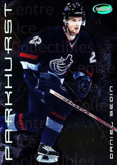 2001-02 Parkhurst Silver #89 Daniel Sedin<br/>3 In Stock - $2.00 each - <a href=https://centericecollectibles.foxycart.com/cart?name=2001-02%20Parkhurst%20Silver%20%2389%20Daniel%20Sedin...&price=$2.00&code=427371 class=foxycart> Buy it now! </a>