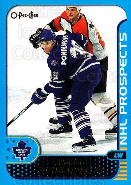 2001-02 O-Pee-Chee #290 Alexei Ponikarovsky<br/>1 In Stock - $1.00 each - <a href=https://centericecollectibles.foxycart.com/cart?name=2001-02%20O-Pee-Chee%20%23290%20Alexei%20Ponikaro...&quantity_max=1&price=$1.00&code=428705 class=foxycart> Buy it now! </a>