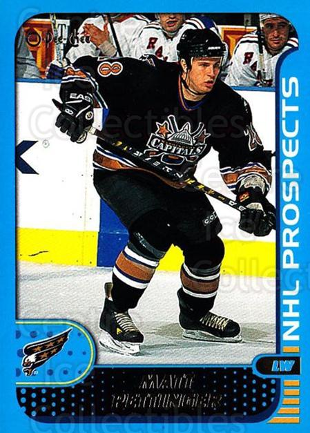2001-02 O-Pee-Chee #299 Matt Pettinger<br/>1 In Stock - $1.00 each - <a href=https://centericecollectibles.foxycart.com/cart?name=2001-02%20O-Pee-Chee%20%23299%20Matt%20Pettinger...&quantity_max=1&price=$1.00&code=428706 class=foxycart> Buy it now! </a>